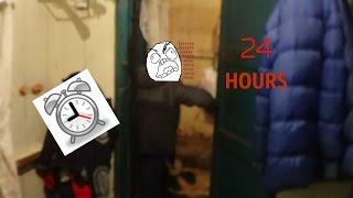 CHALLENGE 24 HOURS НОЧЬ В ЗАКРЫТОМ ДОМЕ