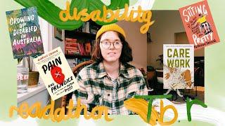 Books on Disability and  Chronic Illness | my #disabilityreadathon TBR