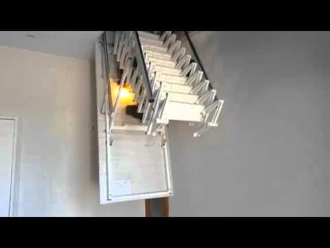 pose escalier escamotable leroy merlin courante pour fixation au mur with pose escalier