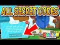 SECRET AREAS AND CODES IN BALLOON SIMULATOR!!! (Roblox)