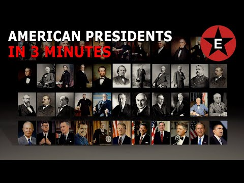 All 44 U.S. Presidents in 3 minutes