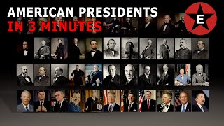 The First 44 American Presidents in 3 minutes