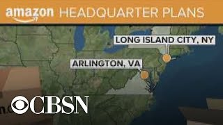 Amazon announces HQ2 locations in New York and Virginia