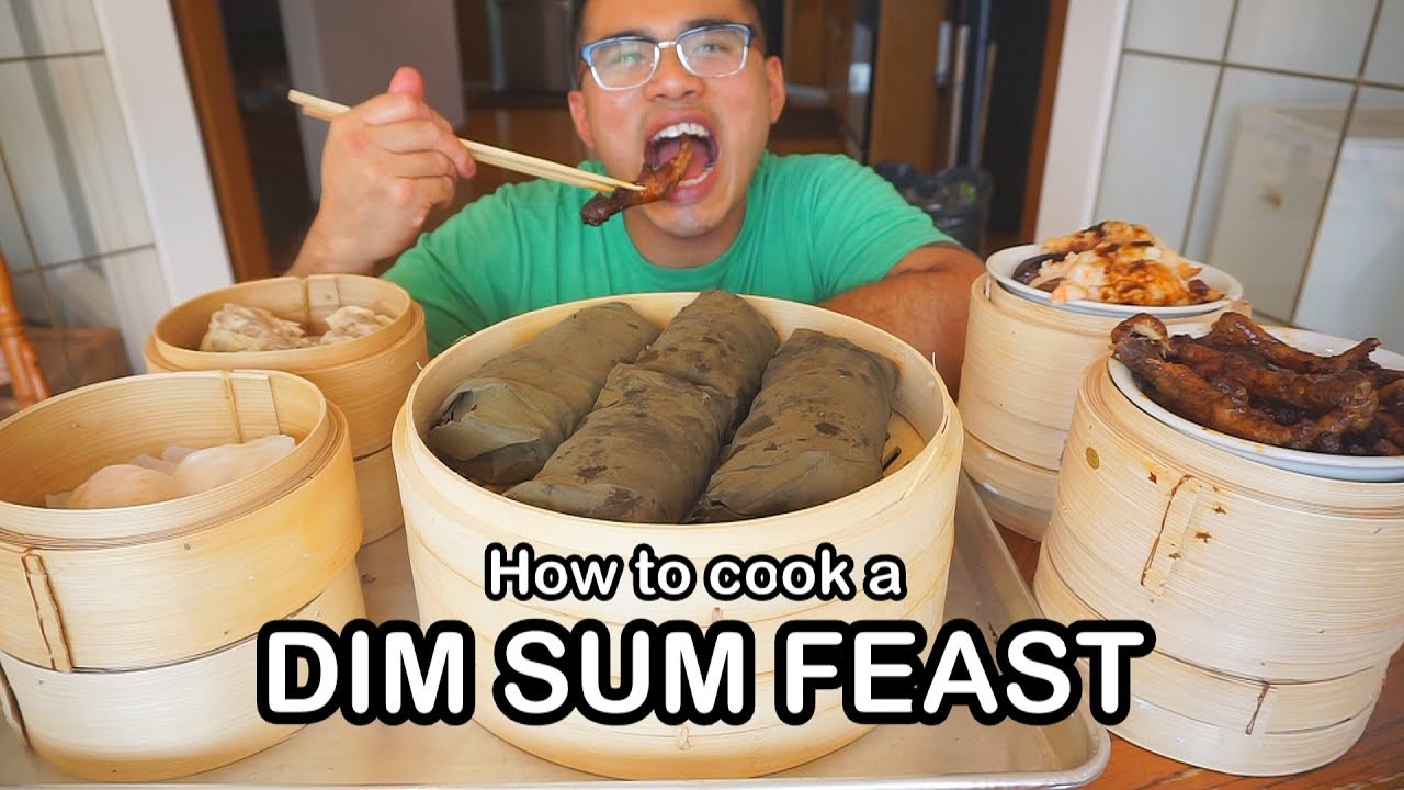 How to cook a DIM SUM FEAST