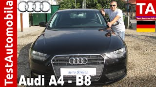 AUDI A4 B8 2.0 TDI TEST