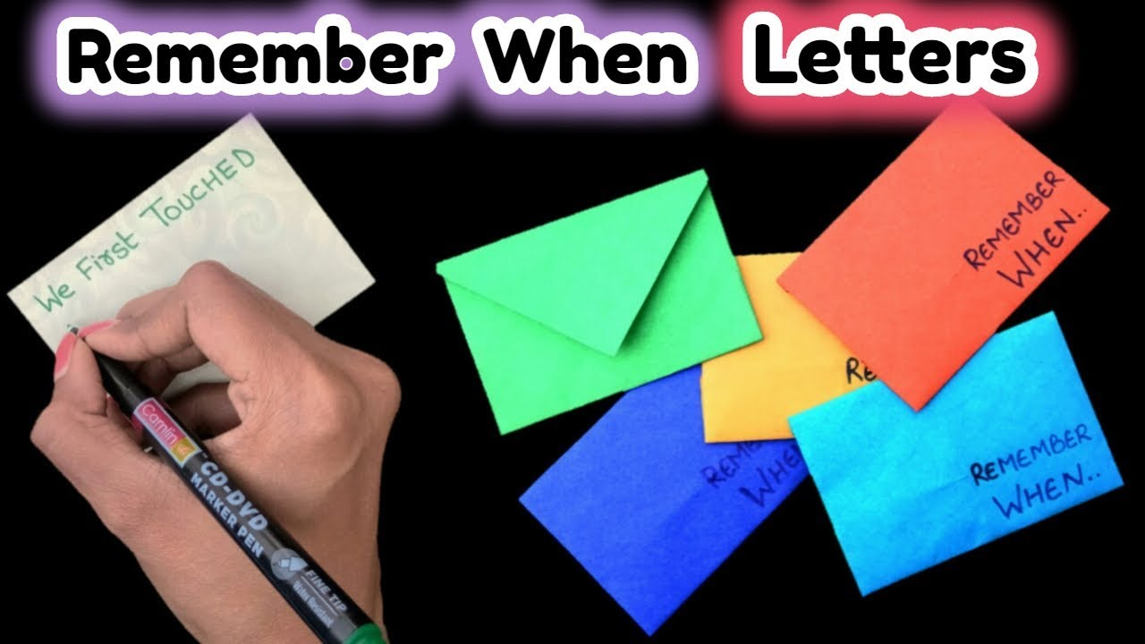 Romantic And Quick Diy Love Letter Friendship Day Gift Ideas