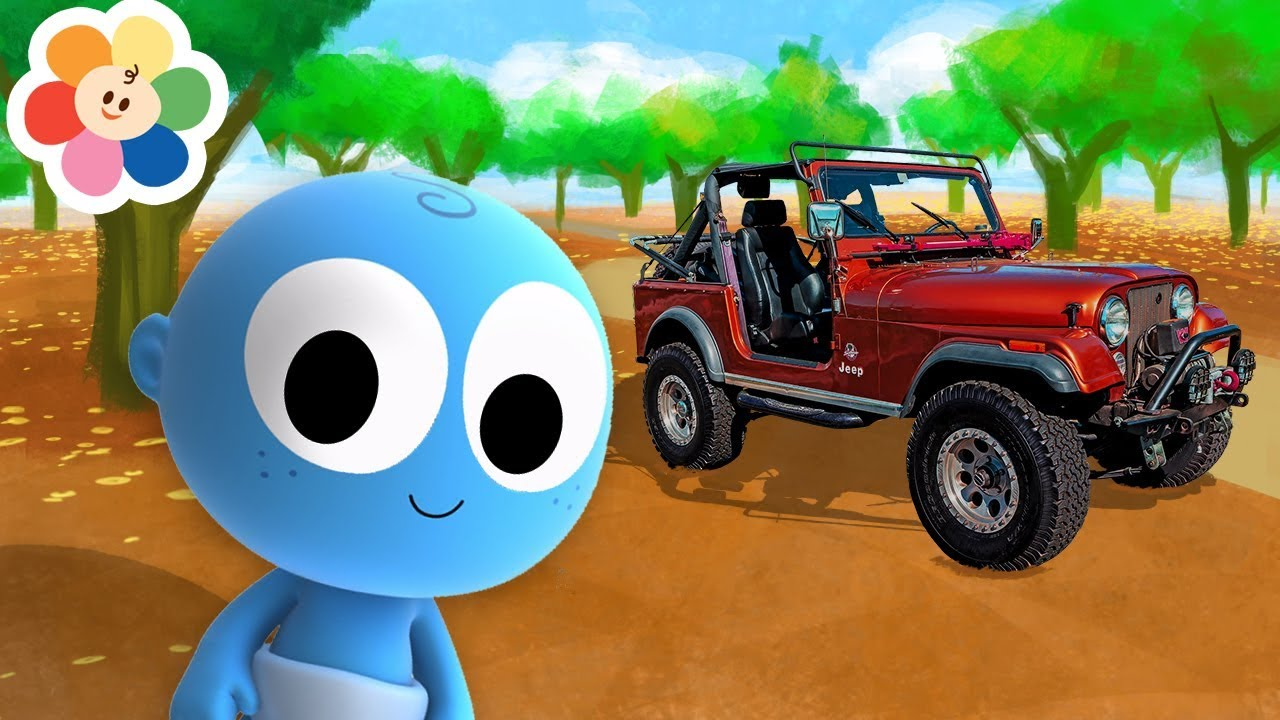 Vehicles for Kids | Color Vehicles With Goo Goo Baby Full Episodes | Educational From Baby First TV