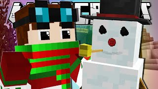 Minecraft | WANNA BUILD A SNOWMAN?! | Frosty Custom Map