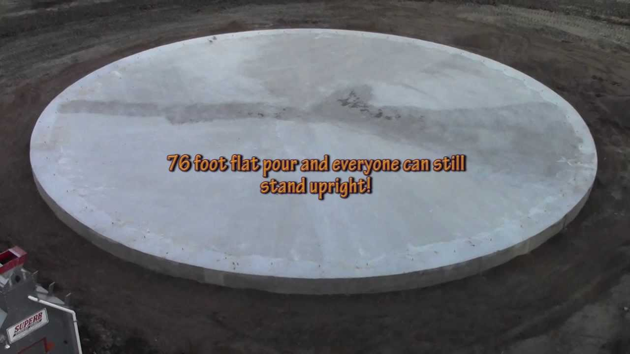 How to make MONEY pouring a grain bin pad!