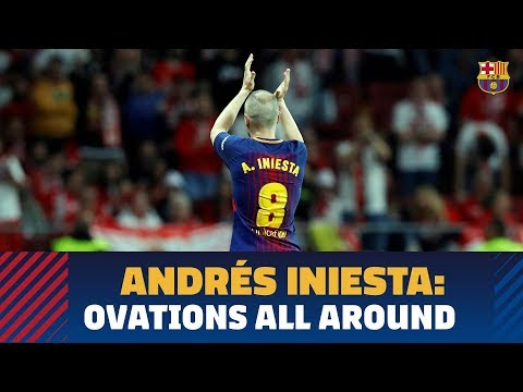 Andrés Iniesta is beloved by Barça's opponents, too
