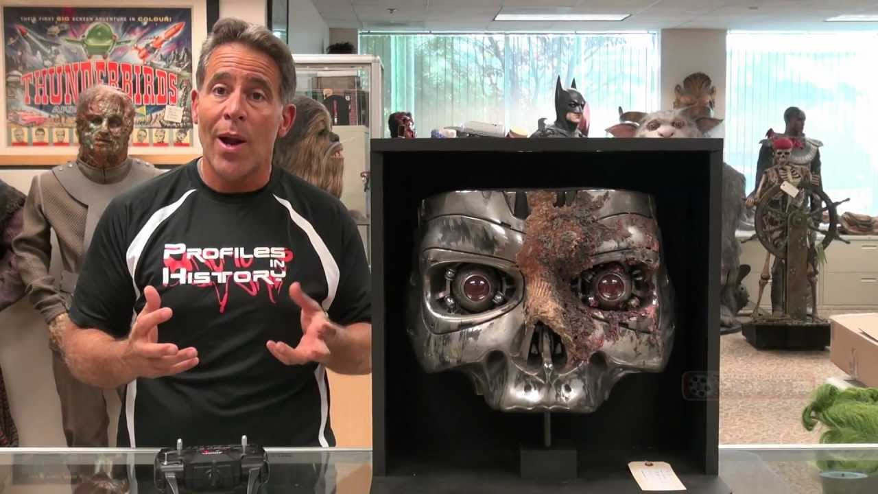 Terminator 2 T 800 Animatronic Stan Winston Endoskull in Profiles in  History July 31 Auction