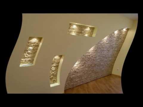 Как оформить нишу в стене