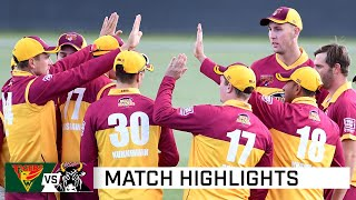 Bulls flatten Tigers thanks to Stanlake, Khawaja | Marsh Cup 2020-21