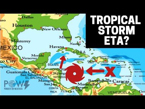 Tropical Storm ETA?