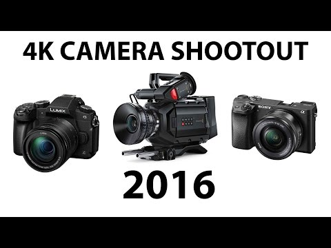 Best 4K Cameras of 2016 - SHOOTOUT!