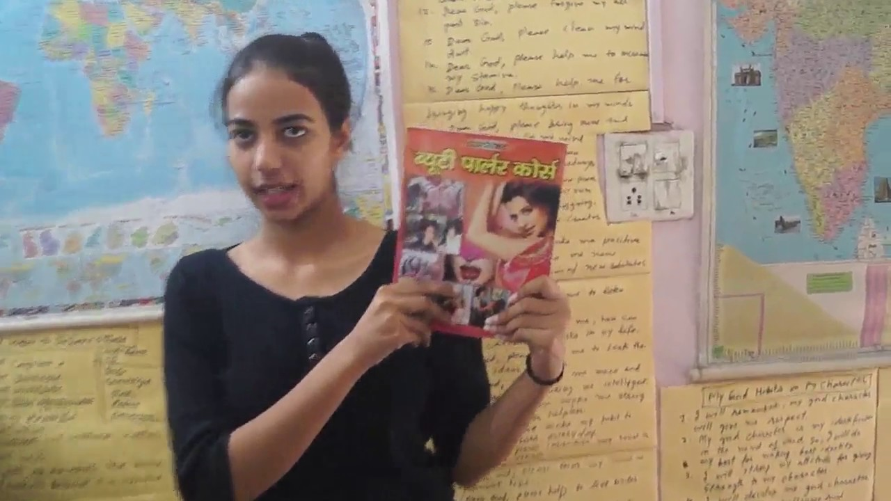 Buy Beauty Parlour Course Book in Hindi - Part 1