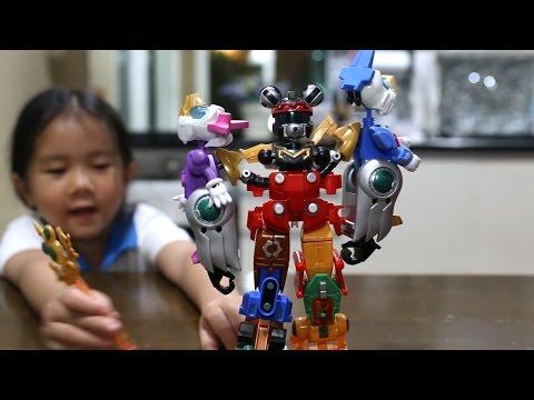 เด็กจิ๋วรีวิว หุ่นยนต์ประกอบร่างมิกกี้เม้าส์ ตอน 2 [N'Prim W272]