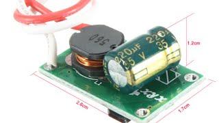 Драйвер подключения светиков 1 -10W от 12 V(Миниатюрные драйверы для подключение светодиодов мощностью до 10W. Реально отлично работают до 5-6 ватт, при..., 2016-04-28T03:09:15.000Z)