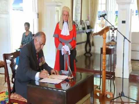 Swearing-in Ceremony of Ratu Epeli Nailatikau as President of the Republic of Fiji