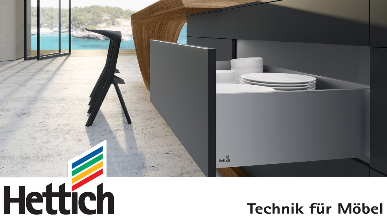 Premium Küchen Living Perfection: With Actro 5d Runners And The Avantech