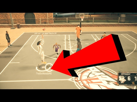 WHY WOULD NBA 2K17 START HIDING THIS?!