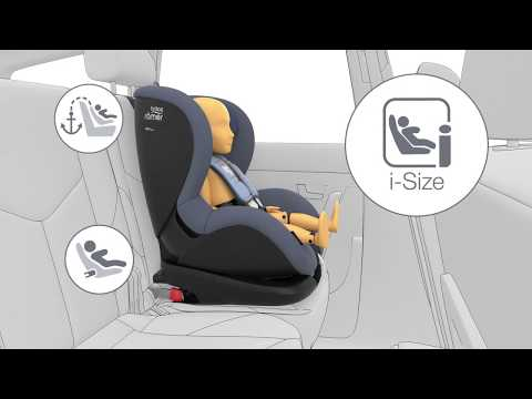 Детское автокресло Britax Roemer Trifix 2 i-SIZE. Видео №2