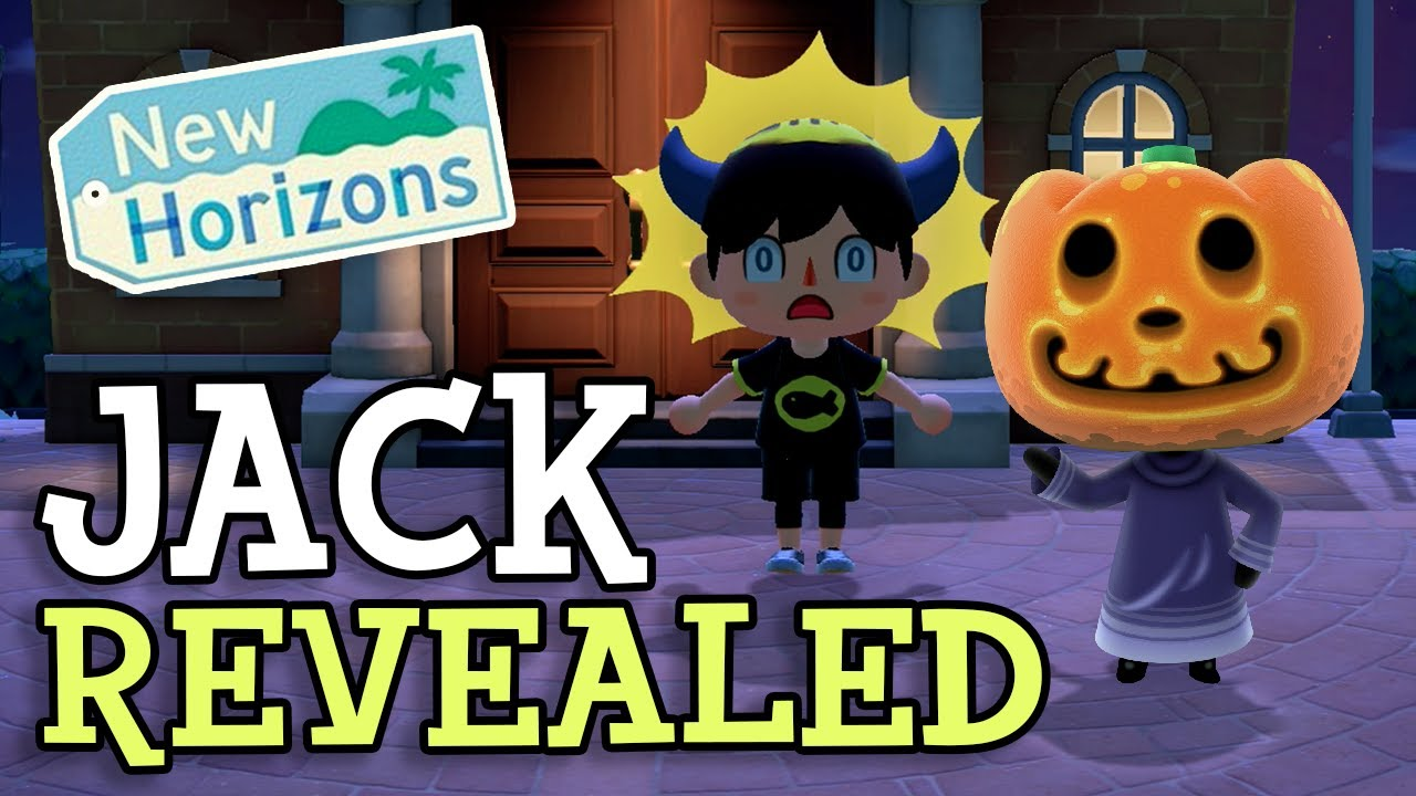 Animal Crossing New Horizons: JACK REVEALED - HALLOWEEN CONFIRMED? (Fall Update Event Predictions)
