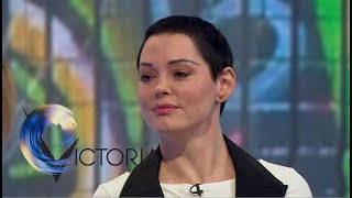 Rose McGowan: 'Weinstein tried to contact me' - BBC News