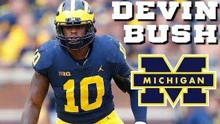 BEST Linebacker in the Big 10 || Devin Bush Michigan Highlights