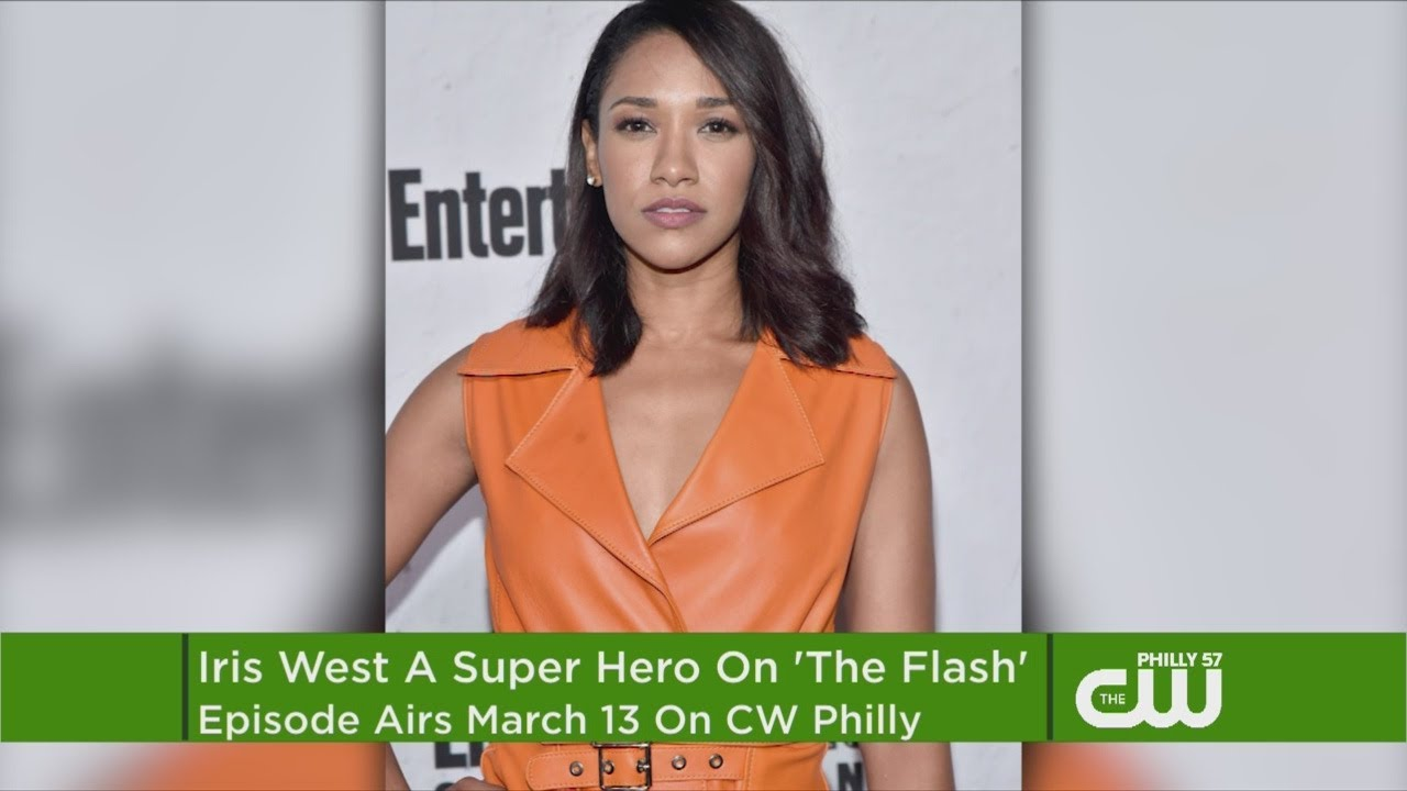 'The Flash's' Iris West Is Suiting Up