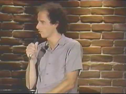 "Stand Up Comedy Early  ""Steven Wright"" 1980's"