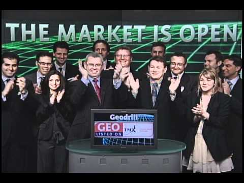 Geodrill Limited (GEO:TSX) opens Toronto Stock Exchange, March 11, 2011