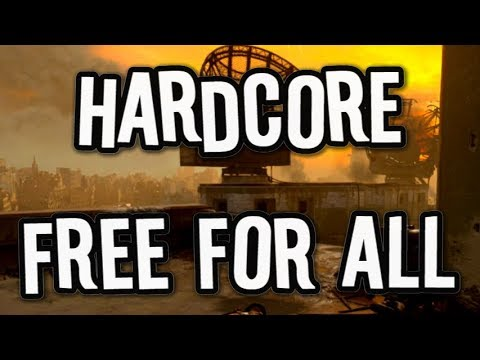 HARDCORE Free For All ★Dead Silence★ Call of Duty: WWII