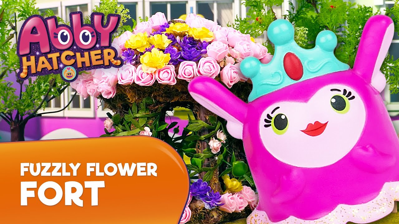 Abby Hatcher Fuzzly Flower Fort | Toy Pretend Play | PAW Patrol Official & Friends