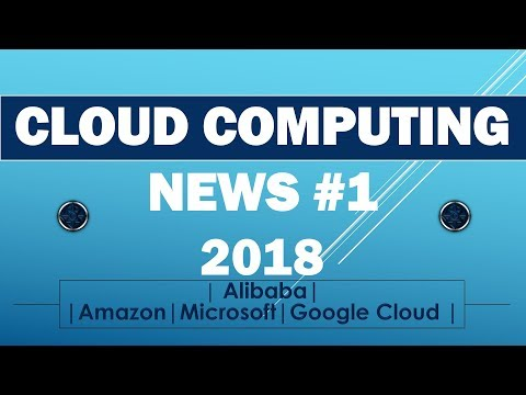 cloud computing news #1 | Alibaba | Amazon | Microsoft | Google cloud