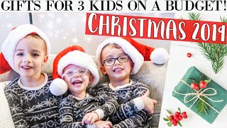 WHAT I GOT MY KIDS FOR CHRISTMAS 2019🎁 *realistic* + budget-friendly gift ideas for boys and girls!