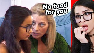 Mean Foster Mother Won't Buy Daughter Food