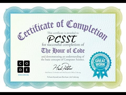 The Hour of Code - Paterson Charter School For Science and Technology