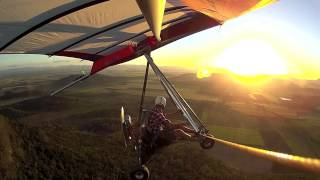Powered Hang Glider Fly over cane fields Andysfishing Motorised Hangglider EP.55