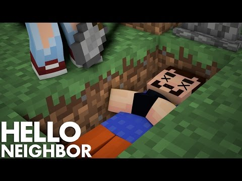 Minecraft Hello Neighbor - I Killed The Neighbor (Minecraft Roleplay)