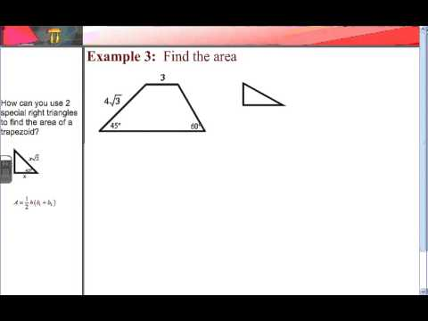 5 5 Area of Trapezoids