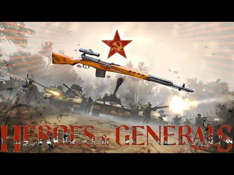 Heroes and Generals SVT 40 Tokarev
