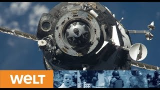 Andocken an die ISS: Astronaut Alexander Gerst erreicht Internationale Raumstation