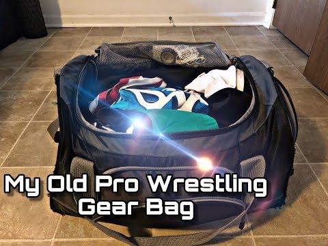 Looking Through My Bag Of Pro Wrestling Gear- Ryan Radix