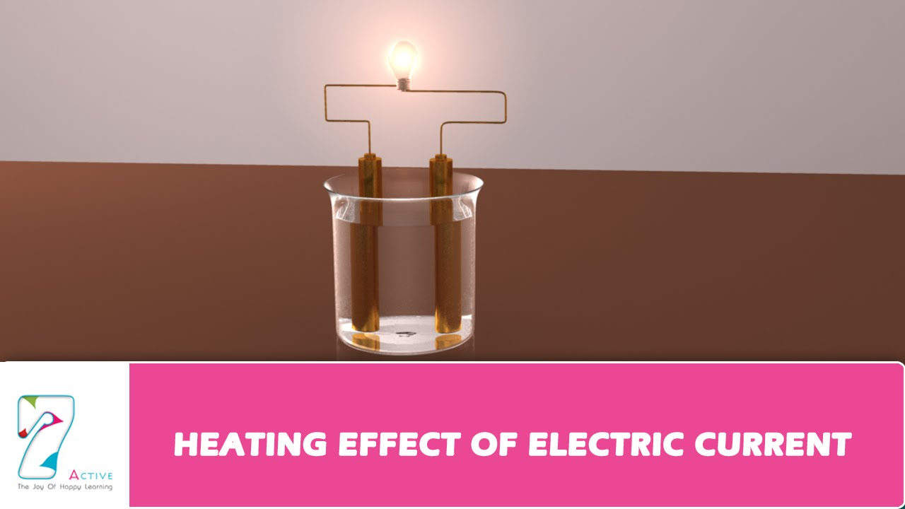 Heating Effect Of Electric Current Youtube Video Animation Simple Electrical Circuit Showing Flow By