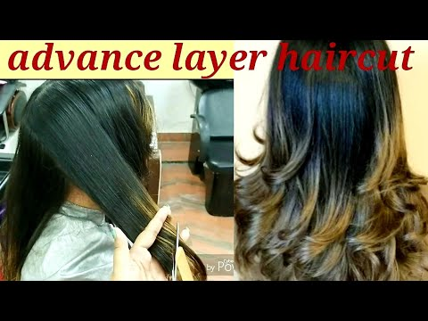 advance layer haircut  2019  easy and simple method step by step