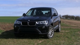 2017 BMW X3 20d xDrive (190 HP) TEST Drive