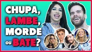 Game: CHUPA, LAMBE, MORDE ou BATE? (ft. Kaya Conky) - Põe Na Roda