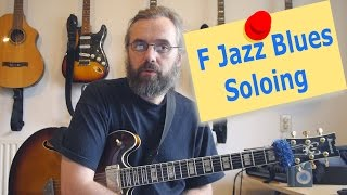 F Jazz Blues Soloing