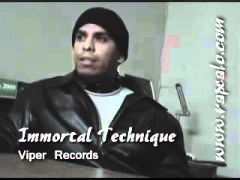 Immortal Technique Entrevista en  Peru  2007
